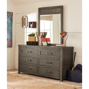 Read Reviews Belgrade 6 Drawer Double Dresser with Mirror by Three Posts Reviews (2019) & Buyer's Guide
