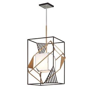 Brayden Studio Lakeport 1-Light Square/Rectangle Pendant