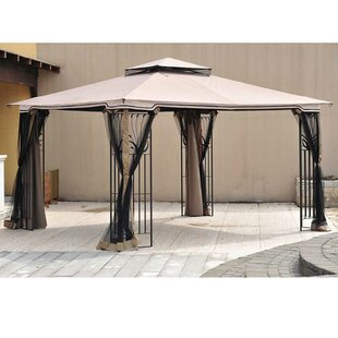 Replacement Canopy for 10' W x 12' D Leaf Steel Gazebo by Sunjoy