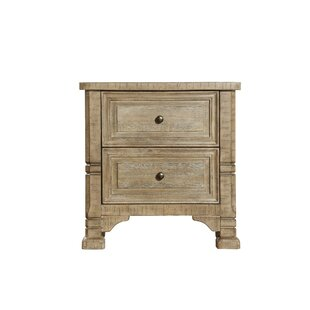 Annandale 2 Drawer Nightstand by Canora Grey