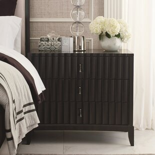 Bonifácio 3 Drawer Nightstand