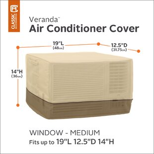 Red Barrel Studio Water Resistant Air Conditioner Cover