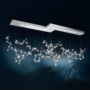 Crystalon 6-Light LED Cluster Pendant by Swarovski