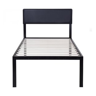 Latitude Run Wildes Platform Metal Bed Frame
