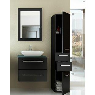 Carina 24 Single Bathroom Vanity Set by JWH Living