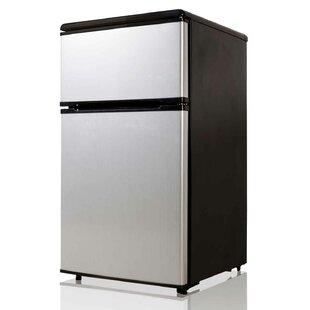 Midea E-Star 3.1 cu. ft. Compact Refrigerator with Freezer