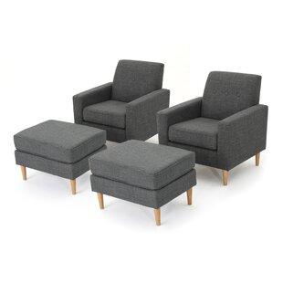 Langley Street Ezequiel Armchair (Set of 2)