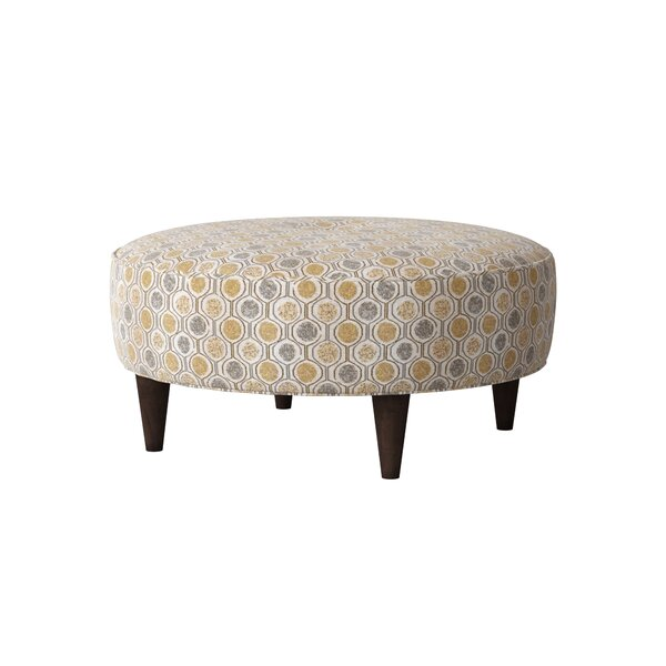 Sensational Circle Tufted Ottoman Wayfair Gmtry Best Dining Table And Chair Ideas Images Gmtryco