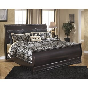 Woodfield Sleigh Bed by Alcott Hill