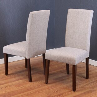 Moseley Upholstered Dining Chair (Set Of 2) by Andover Mills Top Reviews