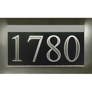 1 Line Lawn Address Sign