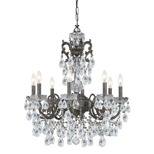 Astoria Grand Markenfield 8-Light Candle Style Chandelier