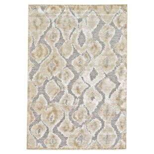 Ledesma Pewter/Brown Area Rug