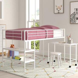 Aglandjia Twin Low Loft Bed