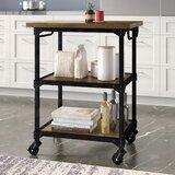 Denice Multifunction Kitchen Cart by Williston Forge