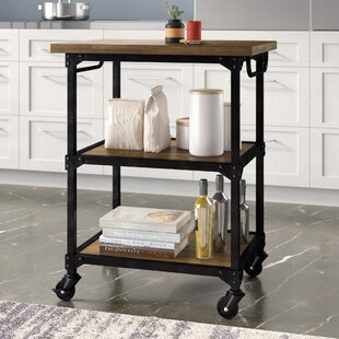Denice Multifunction Kitchen Cart by Williston Forge