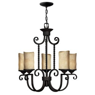 Darby Home Co Jamar 5-Light Shaded Chandelier