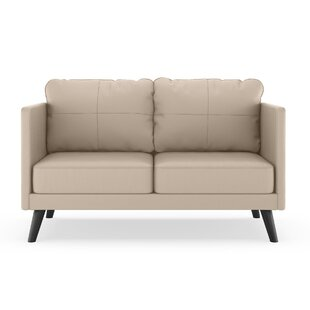 Price comparison Schill Vegan Loveseat by Orren Ellis Reviews (2019) & Buyer's Guide