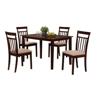 Murdock 5 Piece Dining Set by Red Barrel Studio
