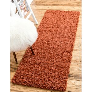 Lilah Basic Terracotta Area Rug