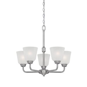 Franklin 5-Light Shaded Chandelier