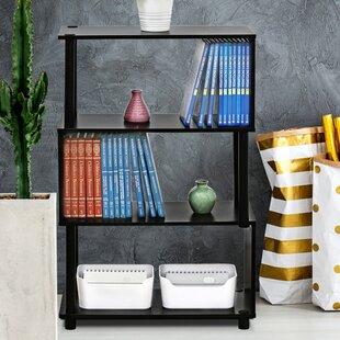 Desirae Etagere Bookcase Ebern Designs