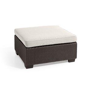 Hallock Ottoman with Cushion by Ivy Bronx