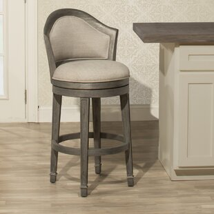 Gudrun 26'' Swivel Bar Stool One Allium Way