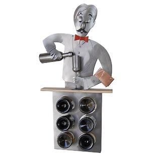 Bartender 6 Bottle Tabletop Wine Rack by ..