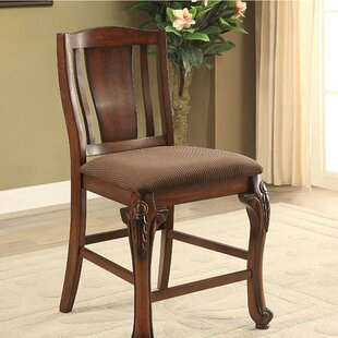 Damiansville Traditional Counter Dining Chair (Set of 2)