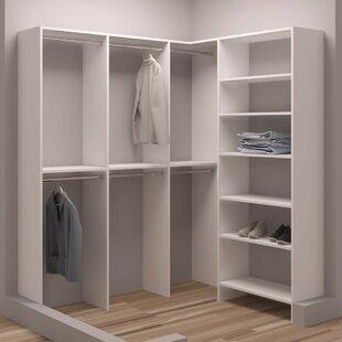 Buying Demure Design 65.5W - 75W Closet System ByTidySquares Inc.