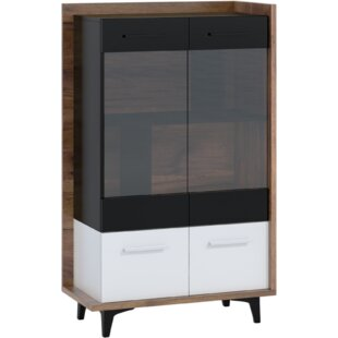 Syston Display Cabinet By Ebern Designs