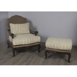 Darby Home Co Bever Lounge Chair and Ottoman