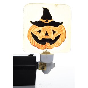 The Holiday Aisle Ralph Halloween Pumpkin and Candy Night Light