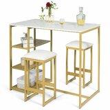 Gunlef 3 - Piece Counter Height Dining Set by Mercer41