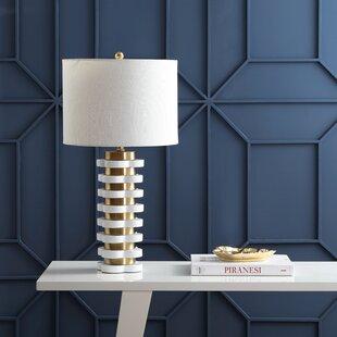 Inexpensive Potomac Stripe 26.5 Table Lamp By Mercer41