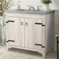 Deals on Millwood Pines Sia 36-inch Single Bathroom Vanity Set