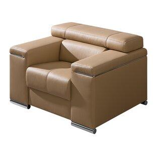 Dolmar Silver Modern Living Room Armchair
