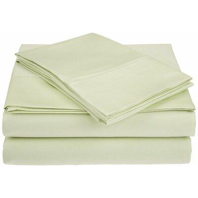 Saine 450 Thread Count 100% Cotton Sheet Set Lark Manor Size: Queen, Color: Sage