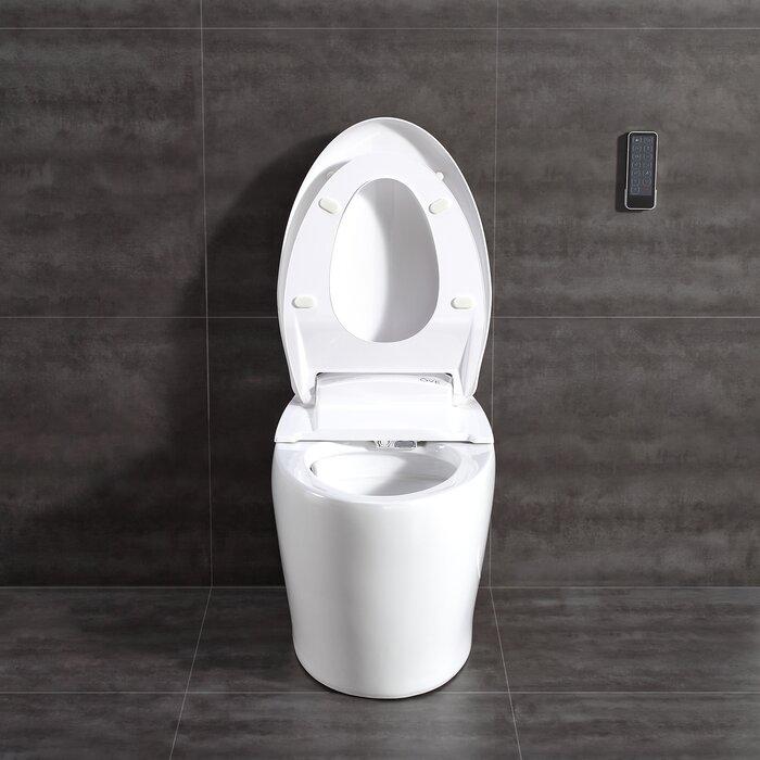 Sensational Tuva Smart Toilet 20 Floor Mount Bidet Uwap Interior Chair Design Uwaporg