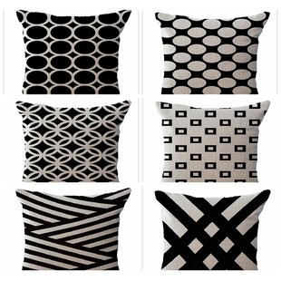 Oakdale 6 Piece Decorative Pillow Cover Set by Wrought Studio Great Reviews