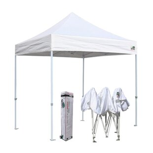 Commercial 8 Ft. W x 8 Ft. D Steel Pop-Up Canopy