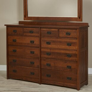 Linnea 12 Drawer Dresser by Millwood Pines