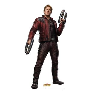 Avengers Infinity War Star-Lord Standup by Advanced Graphics