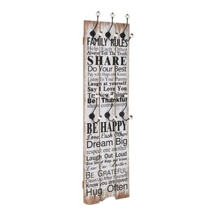 Barth Wall Mounted Coat Rack By August Grove