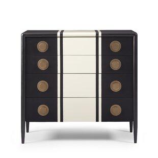 Brayden Studio Yasmine 4 Drawer Dresser