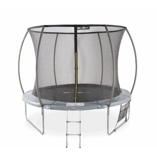 Roxy 7' Backyard Above Ground Trampoline With Safety Enclosure By Freeport Park