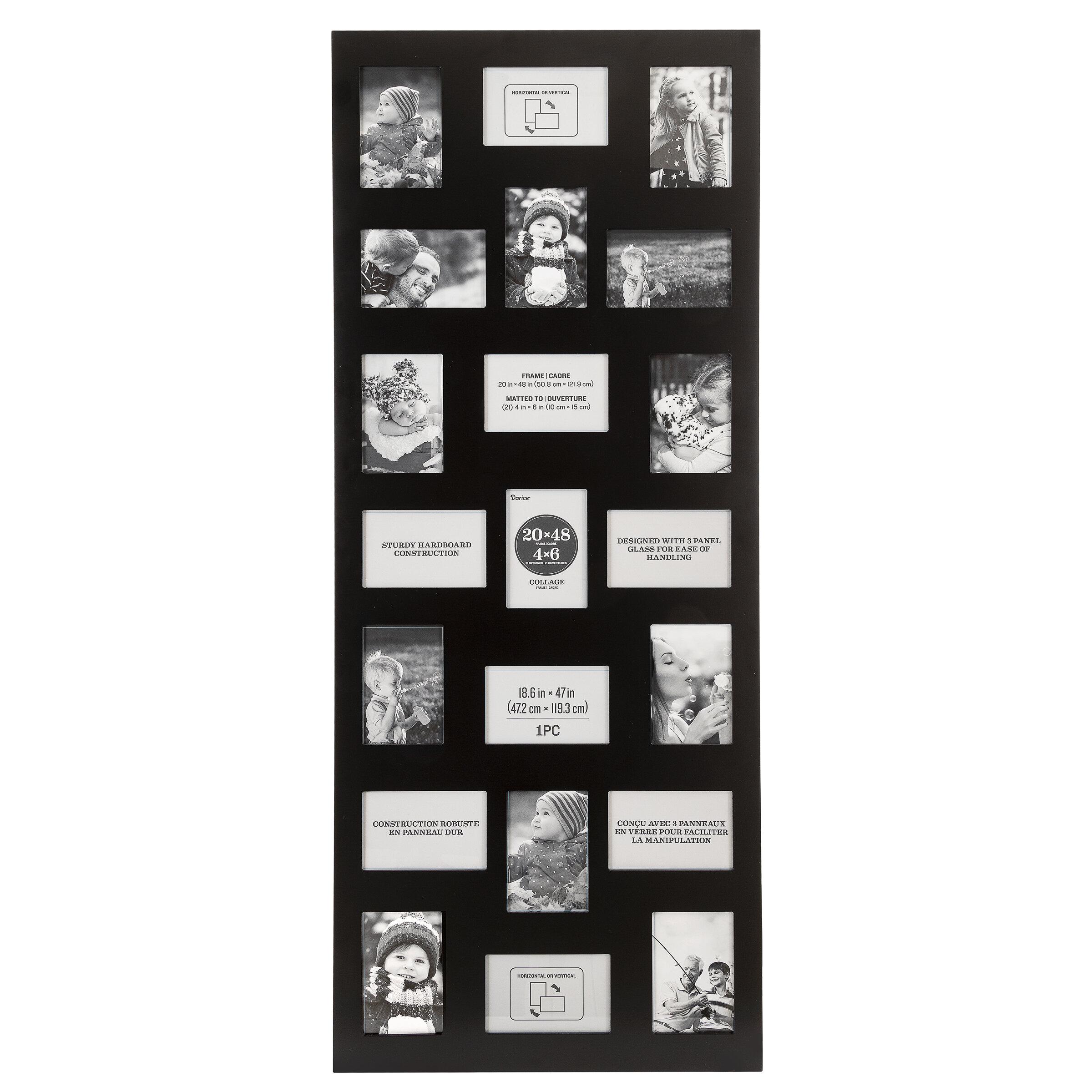 Ebern Designs 20 X48 Wood Collage