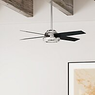 52 Dempsey 4-Blade Ceiling Fan with Remote By Hunter Fan Ceiling Lights