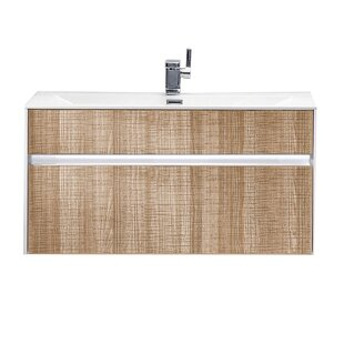 Pursley Wall Mounted Single Vanity Unit By 17 Stories